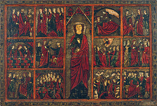Panel of Saint Ursula