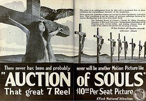 Ravished Armenia (film) - Image: Auction of Souls (1919) Ad 8