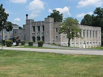 Augusta Military Academy - The Augusta Military Academy's fieldhouse