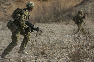 6th Battalion, Royal Australian Regiment - Soldiers from 'B' Company during an exercise in South Korea in 2016