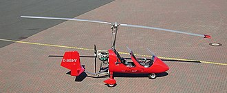 Rotorcraft - A German-registered autogyro