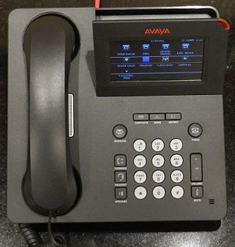 VoIP phone - Avaya IP phone