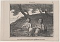 Ayant enfin trouvé..., from Actualités, published in Le Charivari, August 14, 1857 MET DP876656.jpg