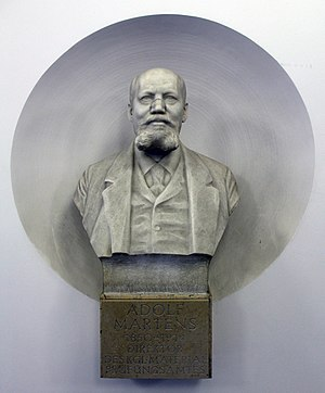 Adolf Martens - Bust of Adolf Martens in Berlin