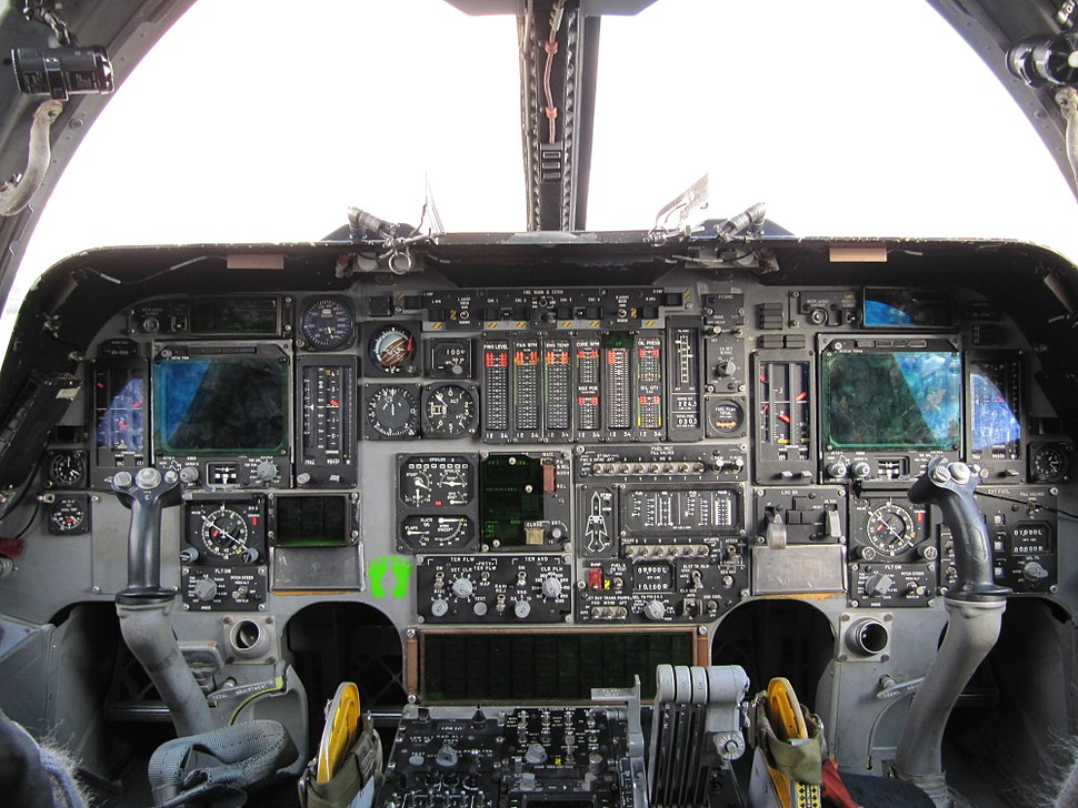 B1 Cockpit