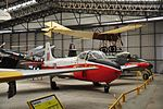 BAC Jet Provost at Yorkshire Air Museum (8288).jpg