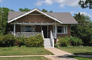 National Register of Historic Places listings in Lawrence County, South Dakota - Image: BAKER BUNGALOW, SPEARFISH, LAWRENCE COUNTY, SD