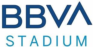 BBVA Bancomer Stadium located in Guadalupe NL. Headquarters of Monterrey Soccer Club. Capacity: 53,500 people
