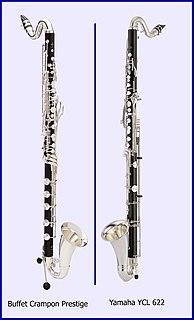 Bass clarinet Bass member of the clarinet family