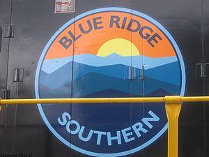 Blue Ridge Southern Railroad - Image: BLU logo