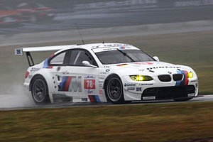 Schnitzer Motorsport - Schnitzer's BMW M3 GT2 at the 2010 1000 km of Zhuhai.