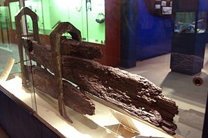 Fiji Museum - Rudder from HMS Bounty