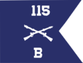 B Company 115th Infantry Regiment 29th Infantry Division V2.png