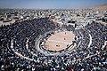 Ba-Chukhe wrestling at Zeinal-khan pitch, Esfarayen, Iran 20180404.jpg