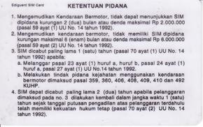 Driving license in Indonesia - Wikipedia