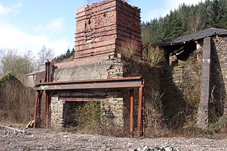 Backbarrow - Remains of Backbarrow ironworks