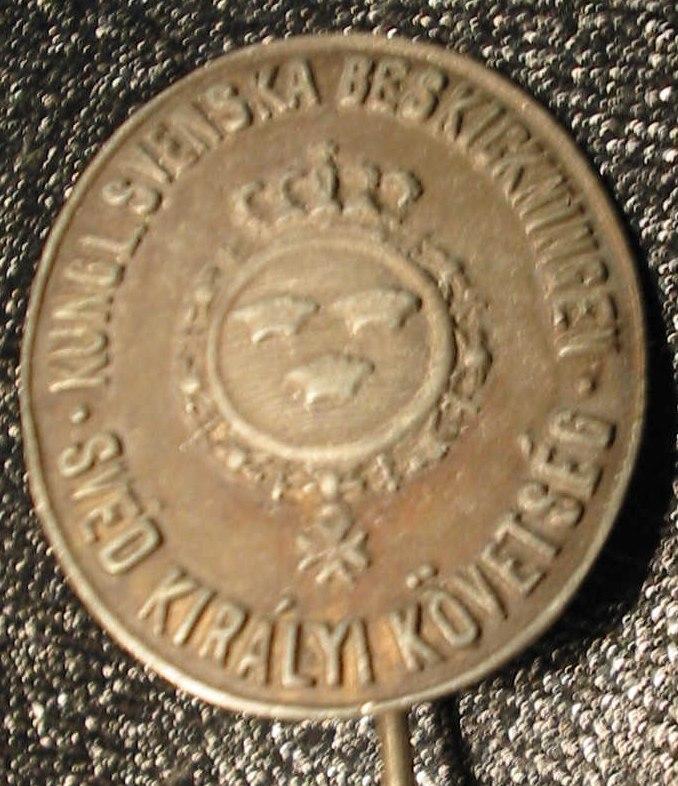 Badge-Swedish legation 1944 in Budapest