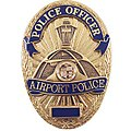 Badge of the Los Angeles Airport Police Officer.jpg