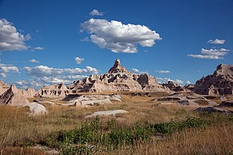 Badlands National Park - Image: Badlands National Park, South Dakota, 04594u