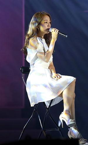 Baek A-yeon - Baek in 2015