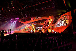 Baku Crystal Hall - stage (Eurovision Song Contest 2012) 2.jpg