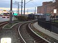 Baltimore Light Rail tracks into Camden Station, 2010.jpg
