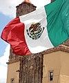 Bandera de México en Dolores Hidalgo Cuna de la Independencia Nacional 3.jpg