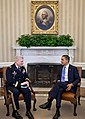 Barack Obama with General Carter Ham in the Whitehouse - 2011 (5446952462).jpg