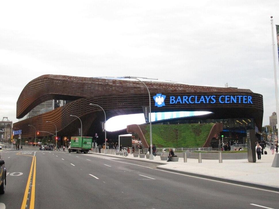 Barclays Center western side