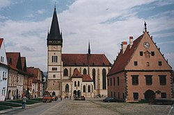 Bardejov-town center square.jpg