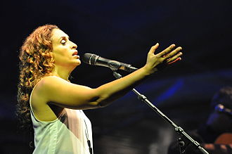 Achinoam Nini - Achinoam Nini at the Bardentreffen festival 2014