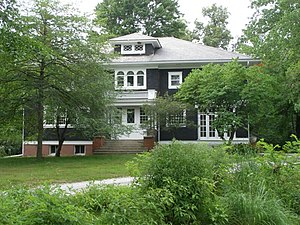 National Register of Historic Places listings in LaPorte County, Indiana - Image: Barker House P7190129