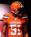 Barkevious Mingo Cleveland Browns New Uniform Unveiling (17154187255).jpg