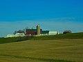 Barn and Three Silos - panoramio (1).jpg