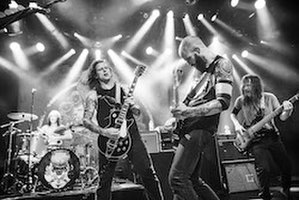 Baroness (band) - Image: Baroness performing at Commodore Ballroom