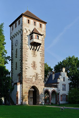 Daig (Switzerland) - St. Alban Gate is one of the few remaining parts of the medieval city wall of Basel. The reclusive St. Alban residential area has been home to the Daig families since the beginning of the 16th century.