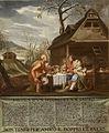 Basen o človeku in satiru (ok. 1700).jpg