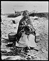 Basketmaker on the beach, ca 1905 (MOHAI 5524).jpg