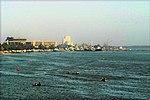 منظر لمدينة البصرة من شط العرب