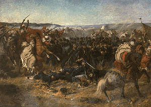 Battle of Sidi Brahim - Battle of Sidi Brahim by Louis-Théodore Devilly.