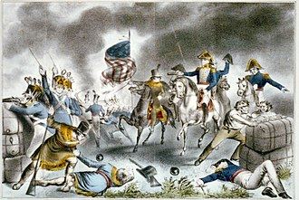 Stephen Simpson (writer) - Image: Battle of New Orleans Fought Jan 8th Currier Ives
