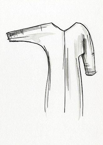 Sleeve - Image: Batwing sleeve
