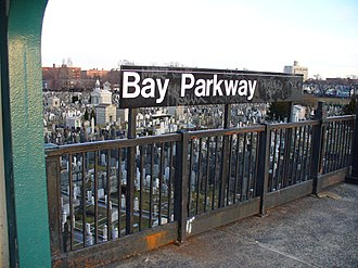 Bay Parkway (IND Culver Line) - Image: Bay Pkwy F NYC Subway Station by David Shankbone
