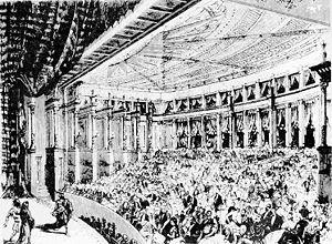 Das Rheingold - First performance in Bayreuth, 1876