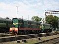 BcH ChME3-2014. Osipovichi-1 station. Minsk - Homel line. (25621239375).jpg