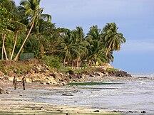 Gabon-Geography-Beach scene Libreville 5