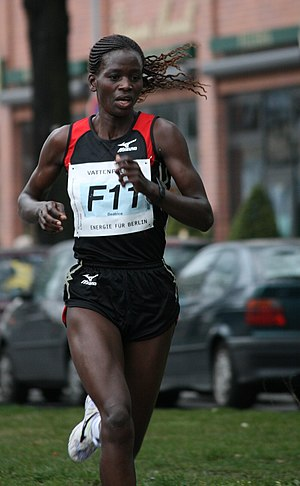 Reims à Toutes Jambes - Beatrice Omwanza won both the Reims and Paris Marathons in 2003.