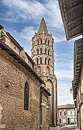 Beaumont-de-Lomagne - Eglise Notre-Dame de l'Assomption - Clocher.jpg