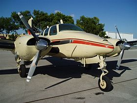 Image illustrative de l'article Beechcraft Twin Bonanza