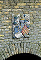 Beers, Unia state wapensteen zuidgevel poort 1984 RM8472.jpg